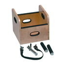 Baseline 55-1038 Fce Work Device - Lifting Box With Handles For Weight Sled - 13 X 13 X 12 Inch