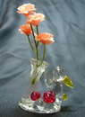 Feng Shui Import Lovely Rabbit Carrying Flowers - 1107