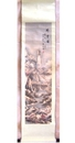 Feng Shui Import Hand Paint Mountain Scroll Picture - 1117