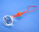 Feng Shui Import Crystal Ball w/ Mystic Knot - 171