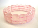 Feng Shui Import Rose Quartz Bracelet  - 1721