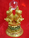 Feng Shui Import Two Pigs Pushing Treasure Up - 1729