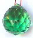 Feng Shui Import Green Crystal Balls - 1733