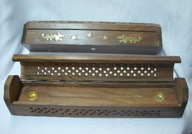 Feng Shui Import Wooden Incense Burner - 1772