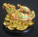 Feng Shui Import Chinese Dragon Turtles - 1877