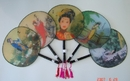Feng Shui Import Big Silk Hand Fan  - 1878