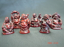 Feng Shui Import Six Little Buddha Statues - 1936