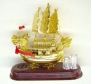 Feng Shui Import Music Sailing Boats - 208