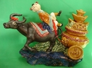Feng Shui Import Tai Sui on Ox Statue - 2157