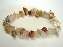 Feng Shui Import Rutilated Quartz Bracelet - 2427