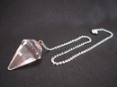 Feng Shui Import Clear Quartz Pendulum  - 2440