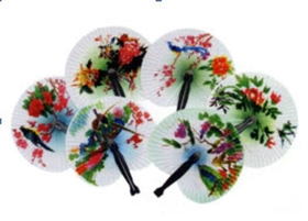 Feng Shui Import Small Holding Fan for Traveling - 2559