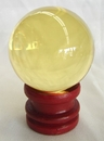 Feng Shui Import - Yellow Crystal Ball (2623)