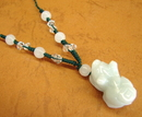 Feng Shui Import Jade Pi Yao Necklace - 2656