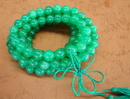 Feng Shui Import Jade Mala Bead Necklace - 2664