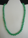 Feng Shui Import Jade Bead Necklace - 2665