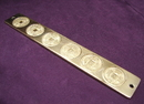 Feng Shui Import 6 Metal Emperor Smooth Coins - 2732