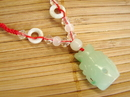 Feng Shui Import Jade Wealthy Vase Necklace - 2757