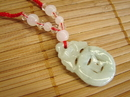 Feng Shui Import Fortune Bat with Coin Necklace - 2786