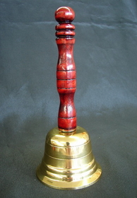 Feng Shui Import Bell with Wooden Handle - 2872