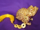 Feng Shui Import Brass Money Frog - 2896