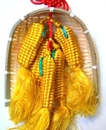 Feng Shui Import Corn In Basket - 300