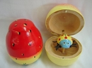 Feng Shui Import 2 of Fruit-Shape Bamboo Toys - 301