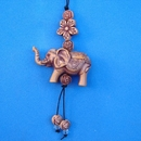 Feng Shui Import Small Elephant Charm as Cell Phone Charm - 3332