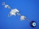 Feng Shui Import Three Elephants with Evil Eyes - 3337