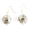 Feng Shui Import Sterling Silver Earrings - 3479