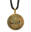 Feng Shui Import Increasing Jewel Mantra and Tree of Life Amulet - 3496