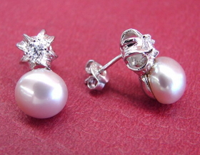 Feng Shui Import Pearl Earrings - 35