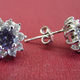Feng Shui Import Crystal Earrings - 36