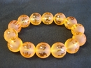 Feng Shui Import Yellow Bracelet with Mantra Omani - 3757