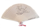 Feng Shui Import Advanced Sandalwood Hand Fan - 3916