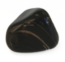 Feng Shui Import Black Onyx Tumbled Polished Natural Stone - 4242