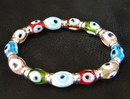 Feng Shui Import Colorful Evil Eye Bracelet - 4608