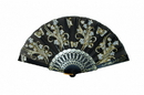 Feng Shui Import Black Hand Fan - 4658
