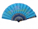 Feng Shui Import Blue Hand Fan - 4665