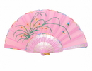 Feng Shui Import Pink Hand Fan - 4667