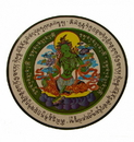 Feng Shui Import 4788 Green Tara Window Sticker