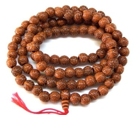 Feng Shui Import Plant Seed Mala Beads Necklaces - 556