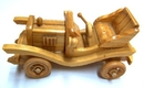 Feng Shui Import Hand Made Movable Wooden Cars - 717