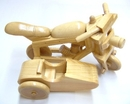 Feng Shui Import Movable Wooden Motorcycles - 718