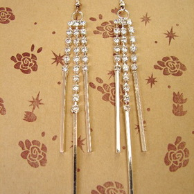 Feng Shui Import Sterling Silver Earrings - 724