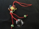 Feng Shui Import Small Crystal Ball with Mystic Knot - 791