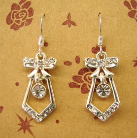 Feng Shui Import Sterling Silver Earrings - 811