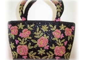 Feng Shui Import Chinese Embroidery Hand Bag - 870