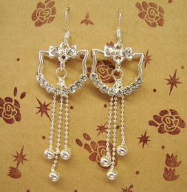 Feng Shui Import Sterling Silver Earrings - 95