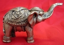 Feng Shui Import Bronze Trunk Up Elephant Statues - 988